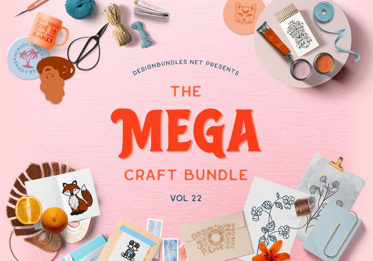 The Mega Craft Bundle Volume 22 Cover