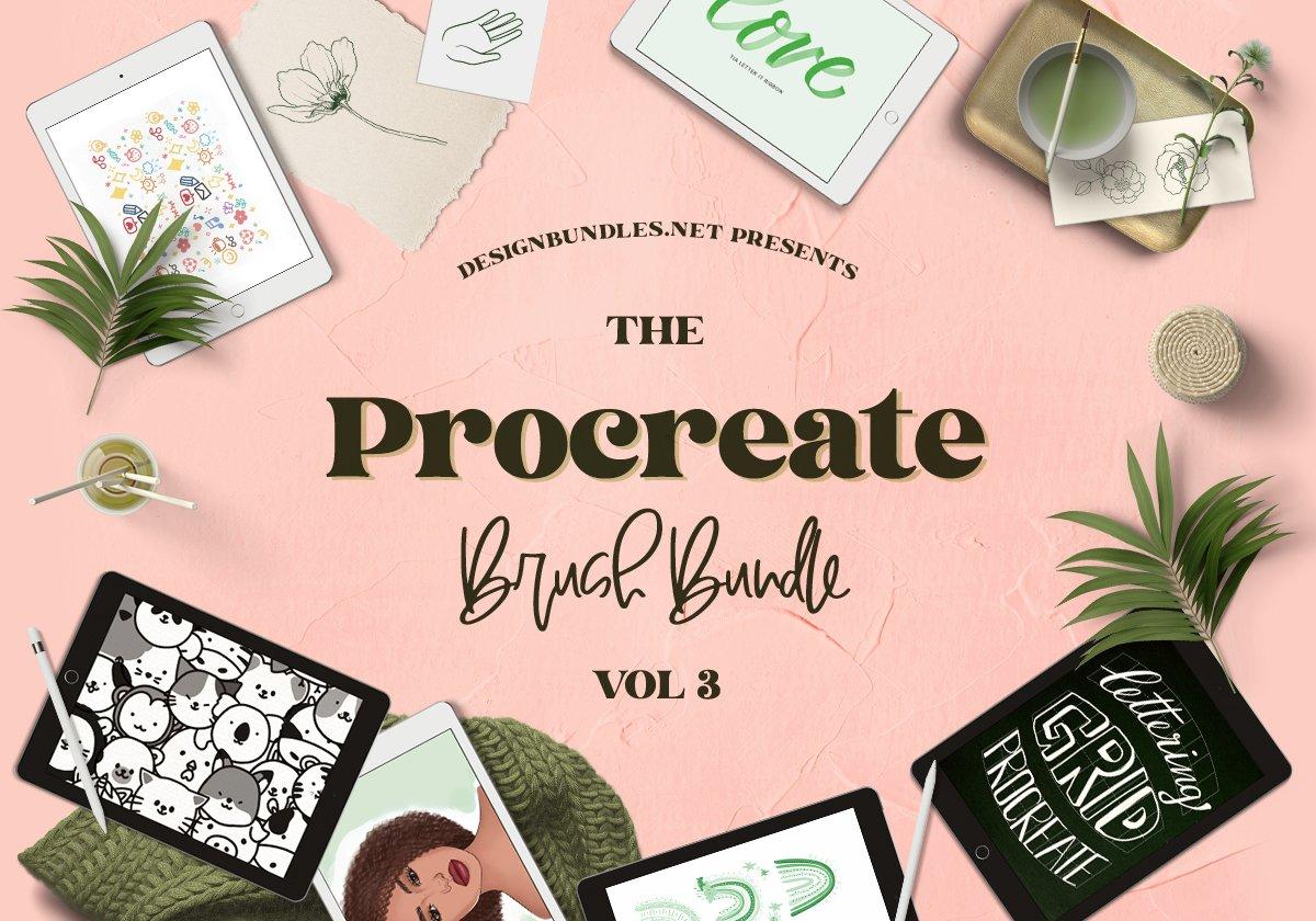The Procreate Brush Bundle 3 Cover