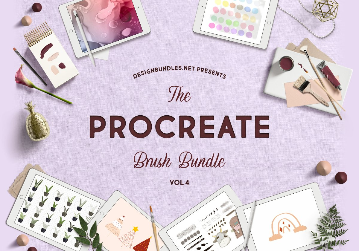 The Procreate Brush Bundle 4 Cover