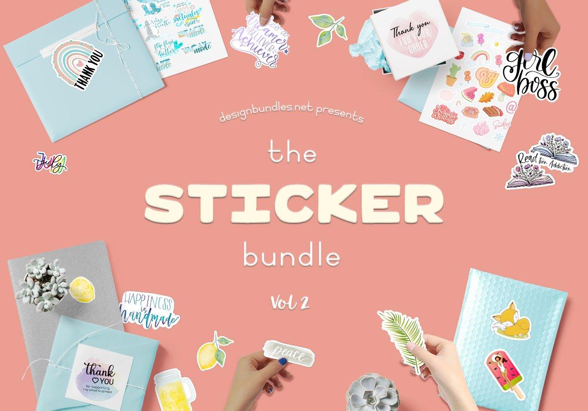The Sticker Bundle Volume 2 Cover