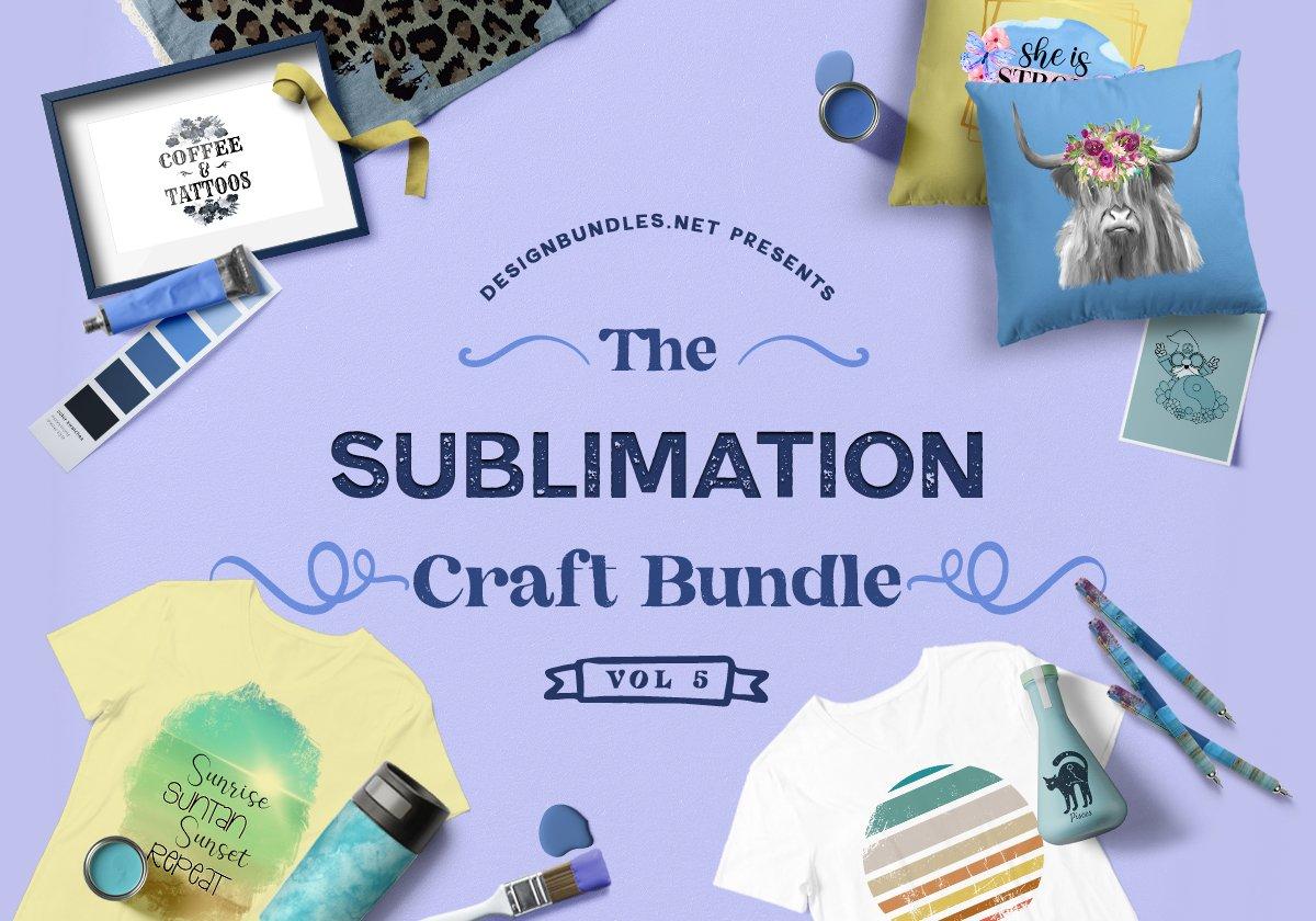 The Sublimation Craft Bundle 5 Cover