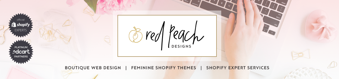 Red Peach Designs Profile Banner