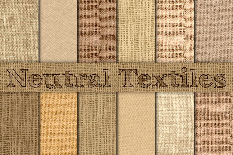 Neutral Burlap, Linen & Canvas example image 1