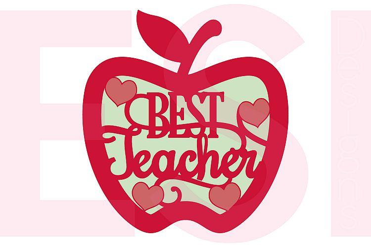 Best Teacher Apple Design example image 1
