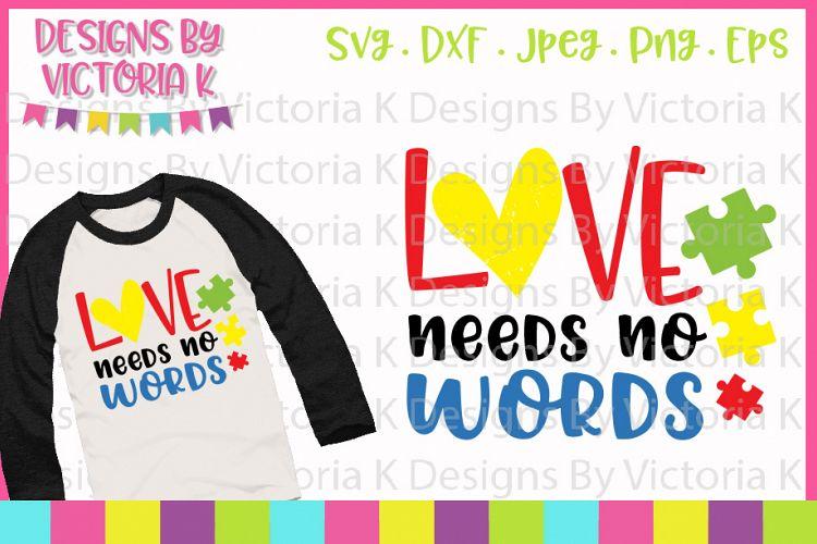 Download Autism svg, Love needs no words, Grunge, SVG, DXF, PNG ...