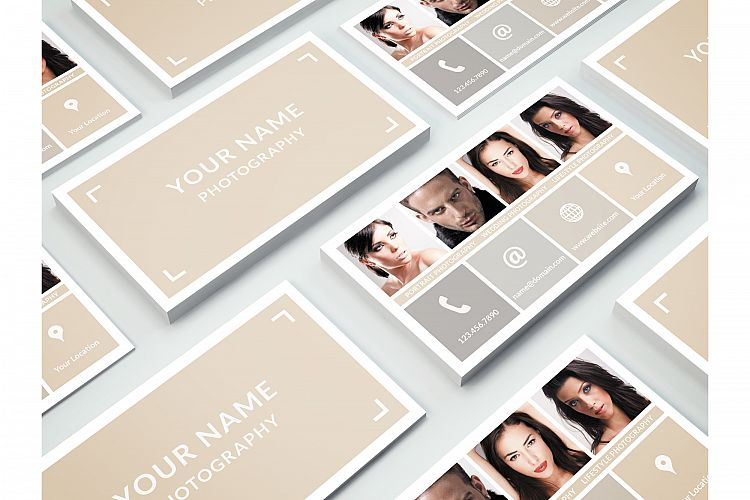 Business Card Template for Photoshop example image 1