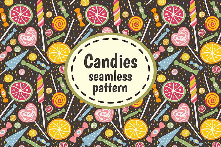 Candies and Sweets: pattern example image 1