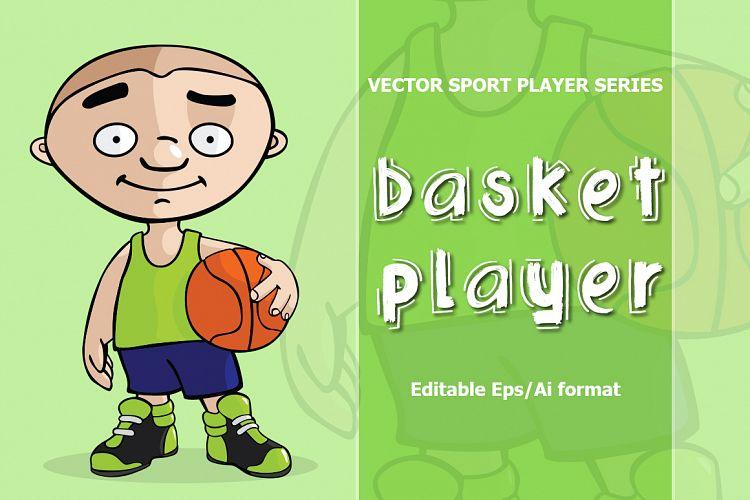 VECTOR basketball player example image 1