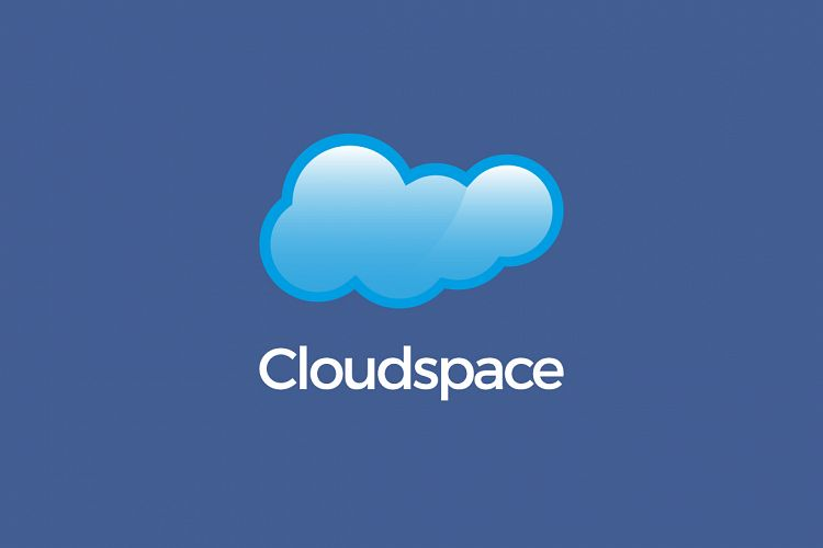 Cloud Space Logo Template example image 1