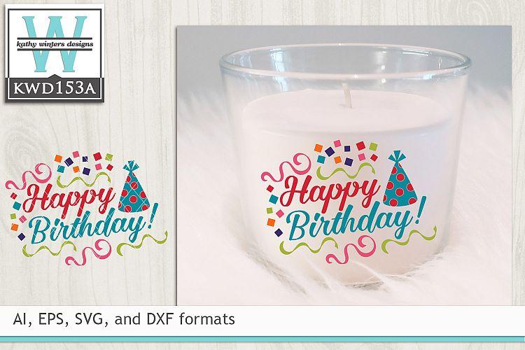 Birthday SVG - Happy Birthday example image 1