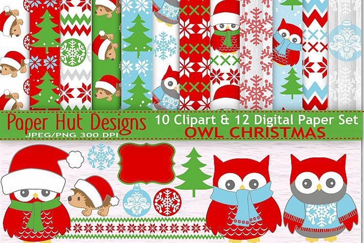 viewing product christmas owl - Owl Christmas