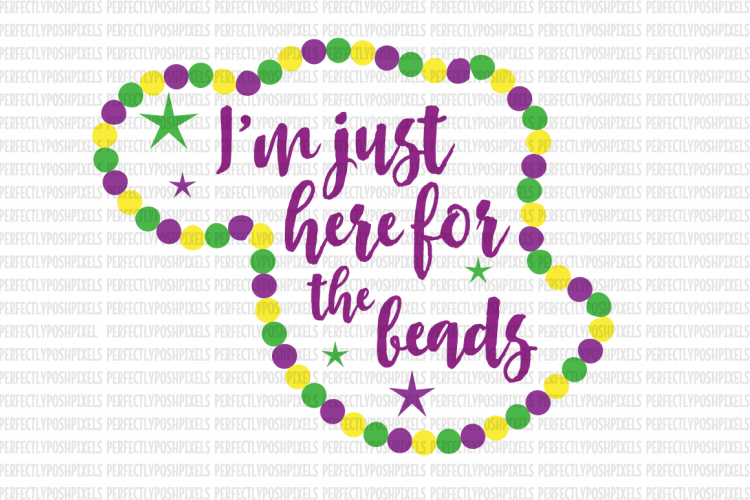 Mardi Gras Svg File Dxf Eps Png Jpg Beads And Bling Printable