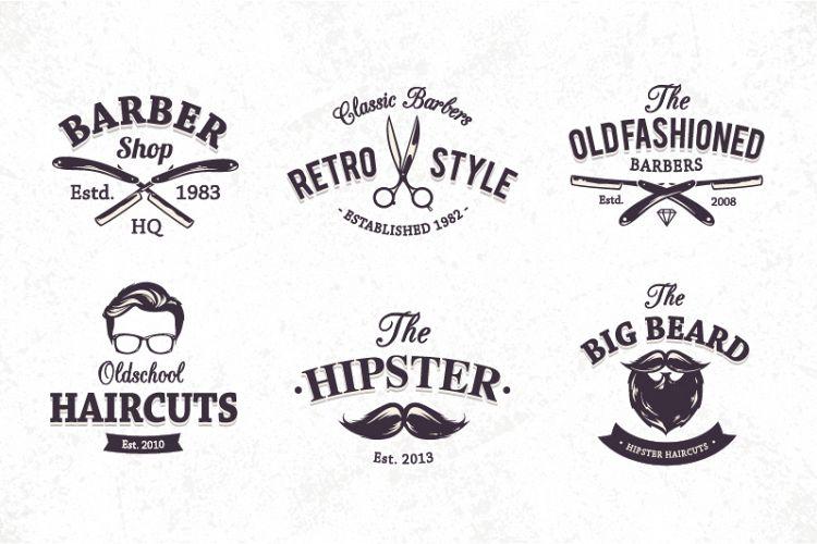 Barber Shop Emblems example image 1