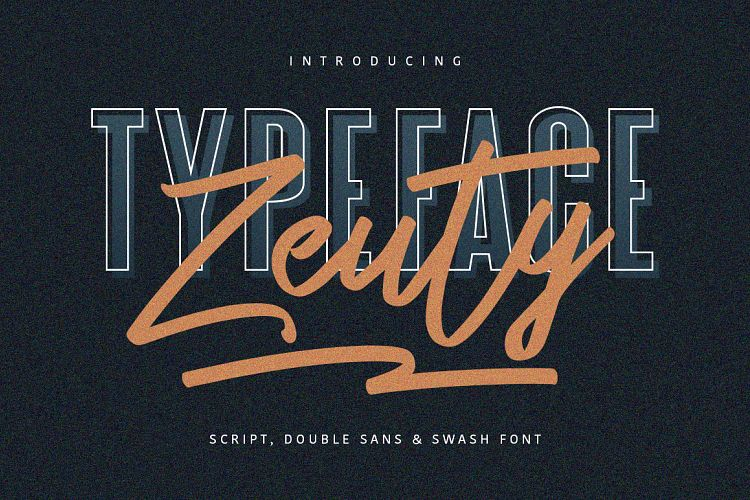Zeuty Typeface Collection example image 1