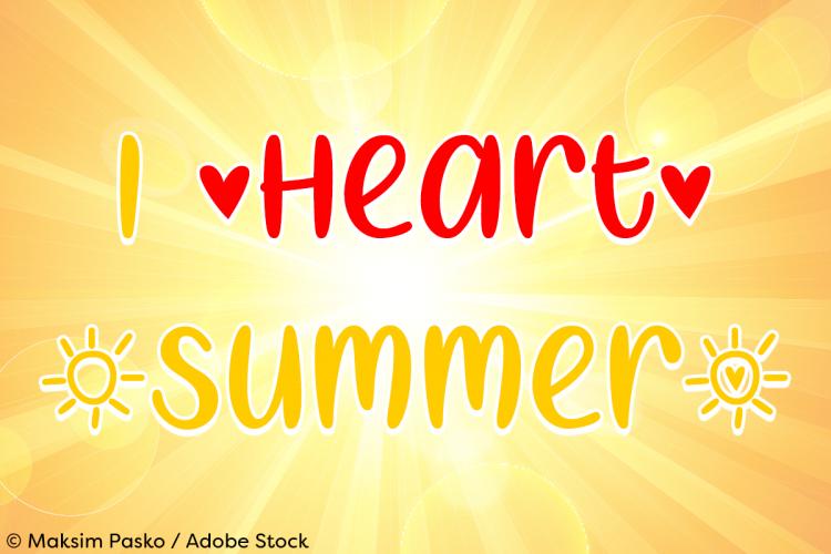 I Heart Summer example image 1