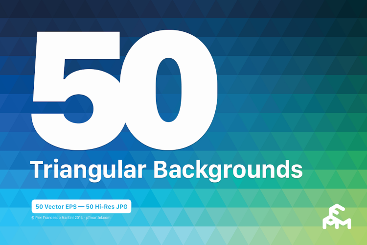 50 Triangular Backgrounds example image 1