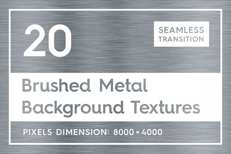 20 Brushed Metal Background Textures example image 1
