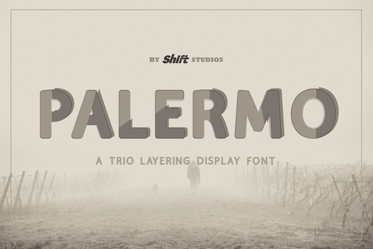 Palermo Typeface example image 1