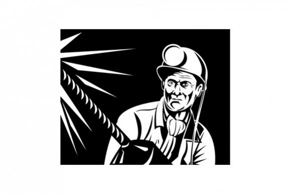 Miner Jack Drill Retro example image 1