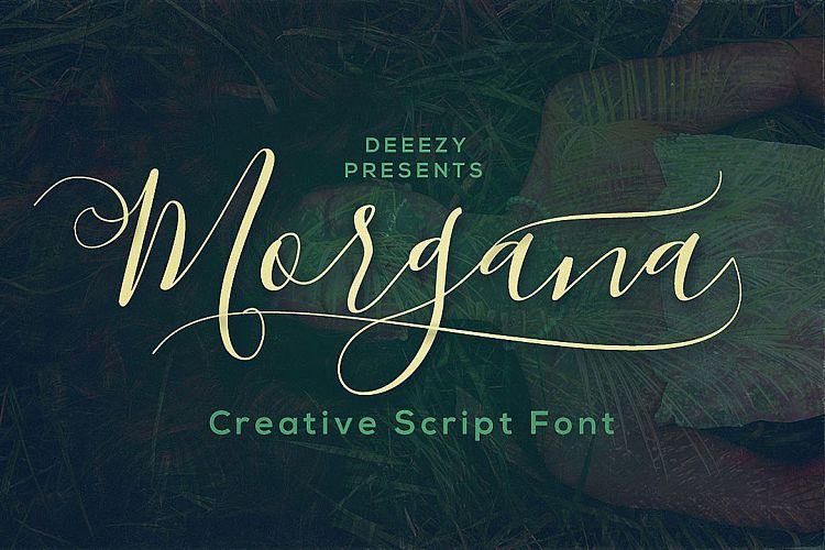 Morgana Script Font example image 1