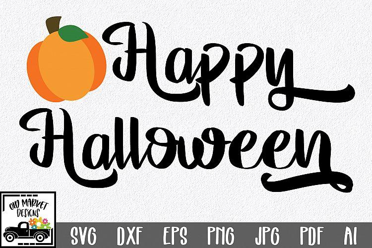 Happy Halloween Svg Cut File Dxf Png Eps Jpg Svg 133358 Svgs Design Bundles