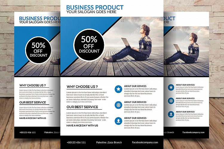 Business Product Flyer