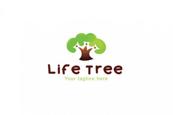 Life Tree - Environment Friendly Community Stock Logo example image 1