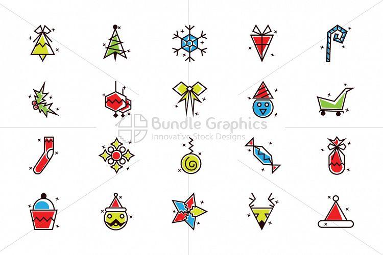 Christmas Celebration - Design Elements Set example image 1