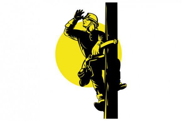Power Lineman  example image 1