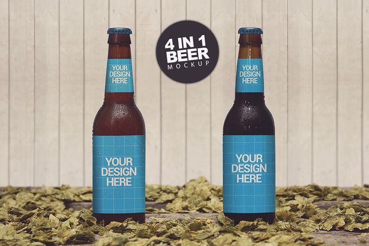Beer Styles 4 in 1 Mockup example image 1