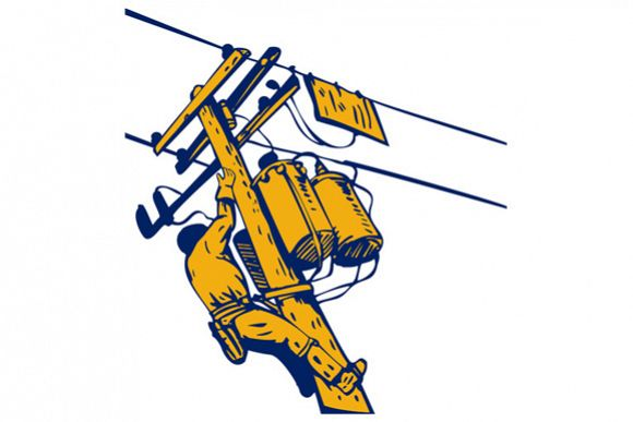Power Lineman Telephone Repairman Electrician example image 1