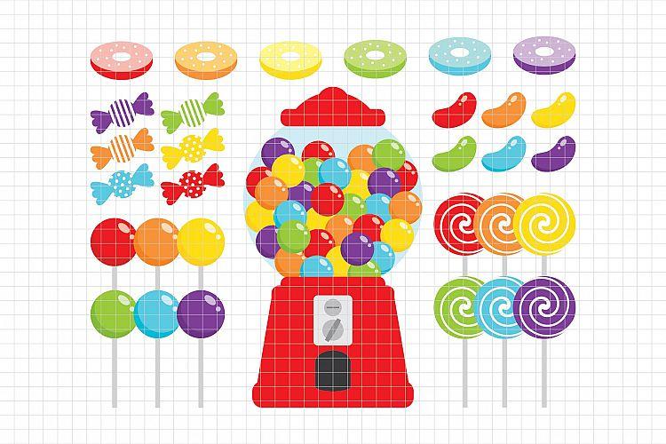 Candy Shop-Digital Clipart LES.CL05A example image 1