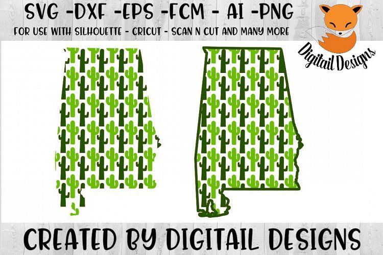 Download Alabama Cactus Svg Cut File For Silhouette Cricut 144538 Cut Files Design Bundles