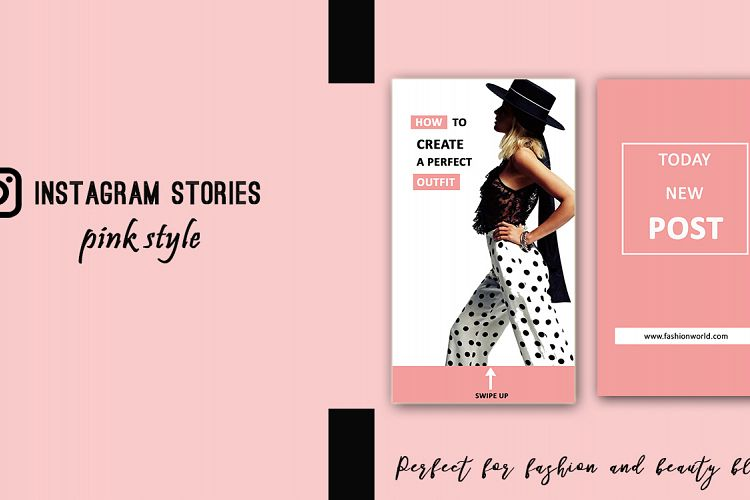 Fashion Instagram Stories 32984 Web Elements Design Bundles