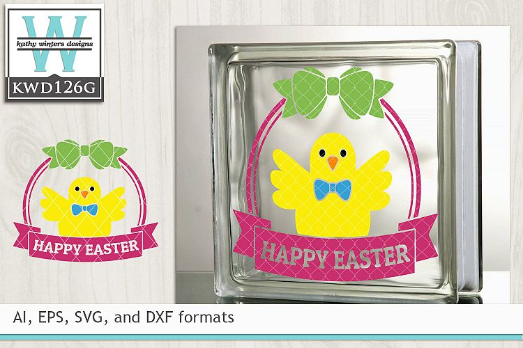 Easter SVG - Easter Chick example image 1