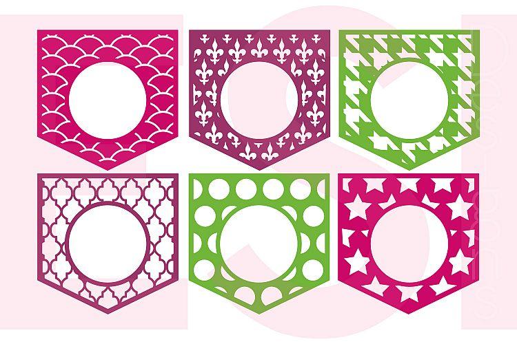 Pocket Monogram Designs - Set 2 example image 1