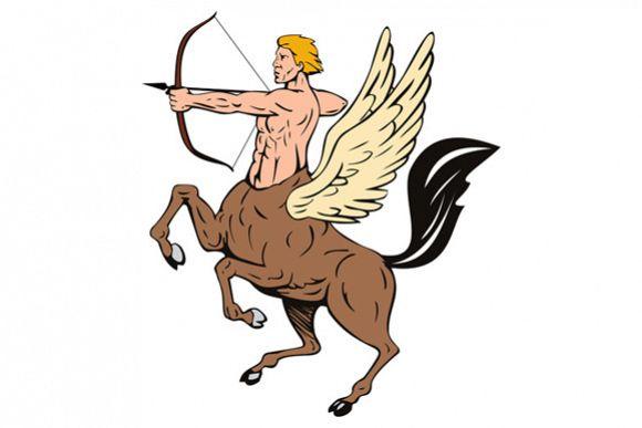 Centaur Bow Arrow Shooting example image 1