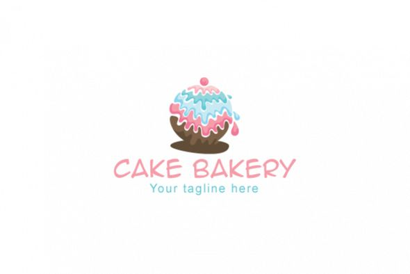 Cake Bakery - Confectionary Store Stock Logo Design example image 1