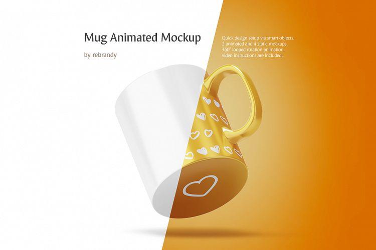 Mug Animated Mockup example image 1