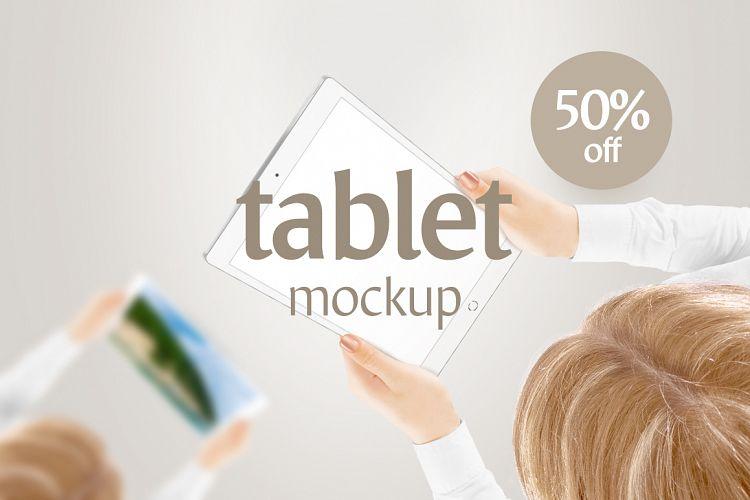 Tablet Mockup - Free Design of The Week Font