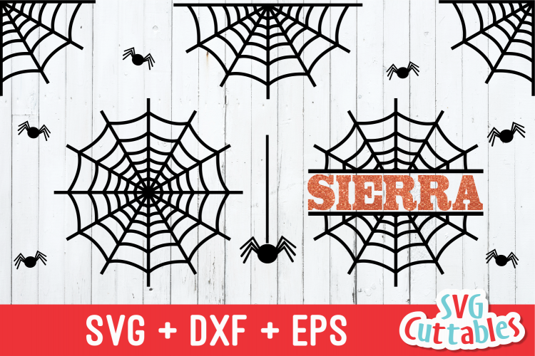 Spider Web SVG | Halloween SVG example image 1