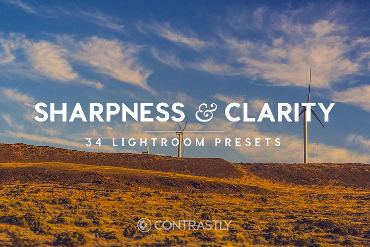 Sharpness & Clarity Lightroom Presets example image 1