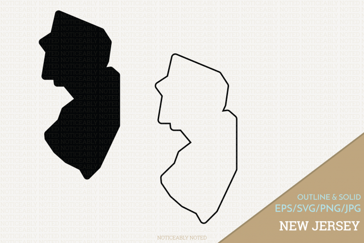New Jersey Vector / Clip Art example image 1