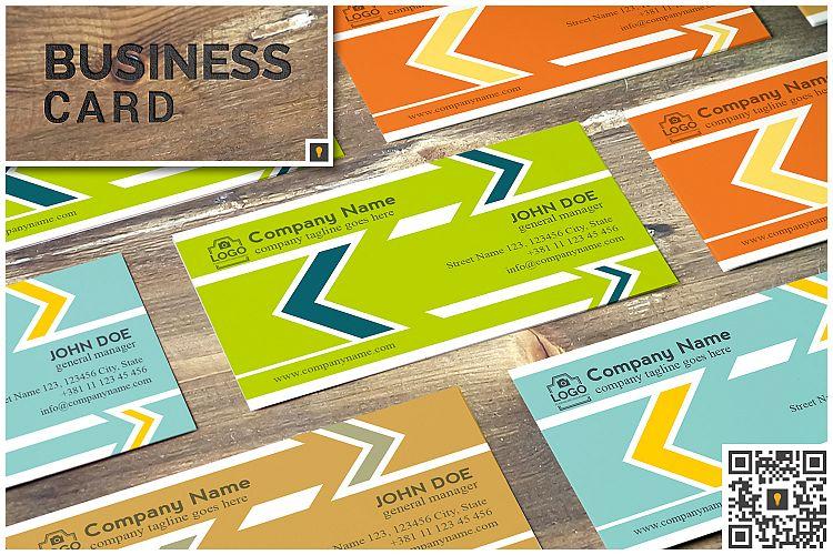 Arrow Corporate Business Card