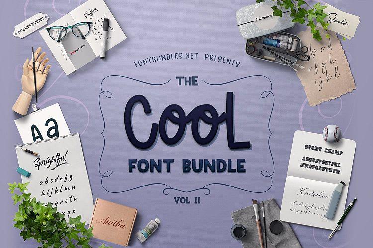 The Cool Font Bundle II