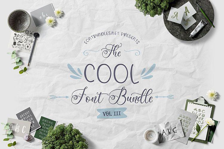 The Cool Font Bundle III