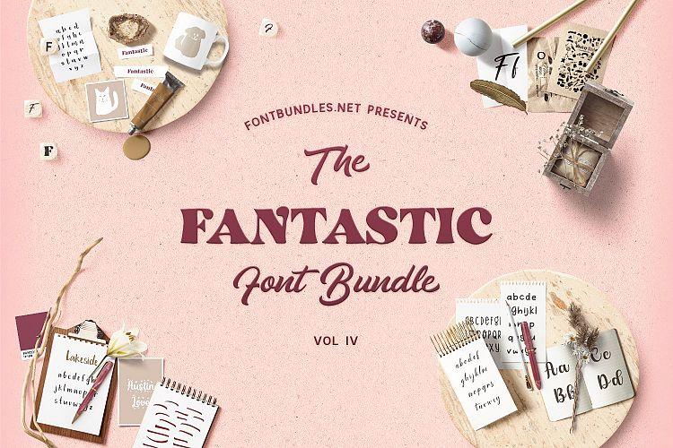 The Fantastic Font Bundle IV