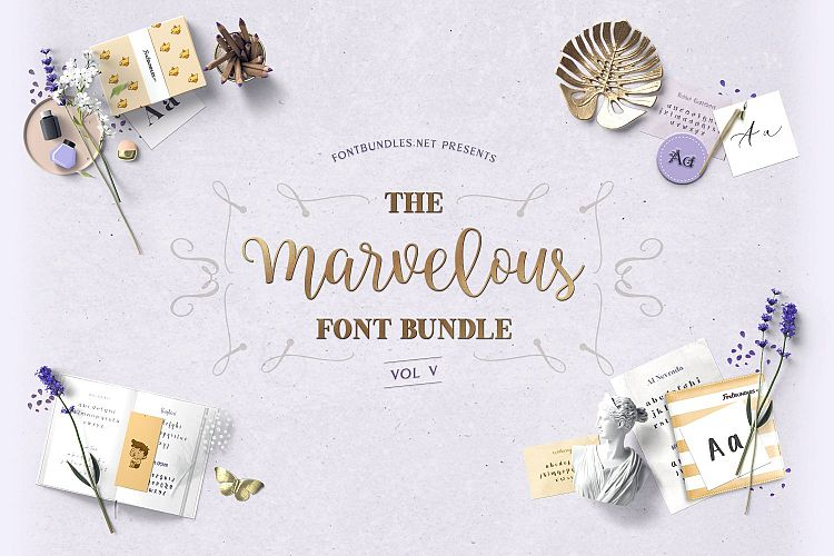 The Marvelous Font Bundle V