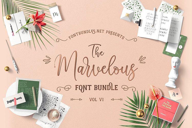 The Marvelous Font Bundle VI