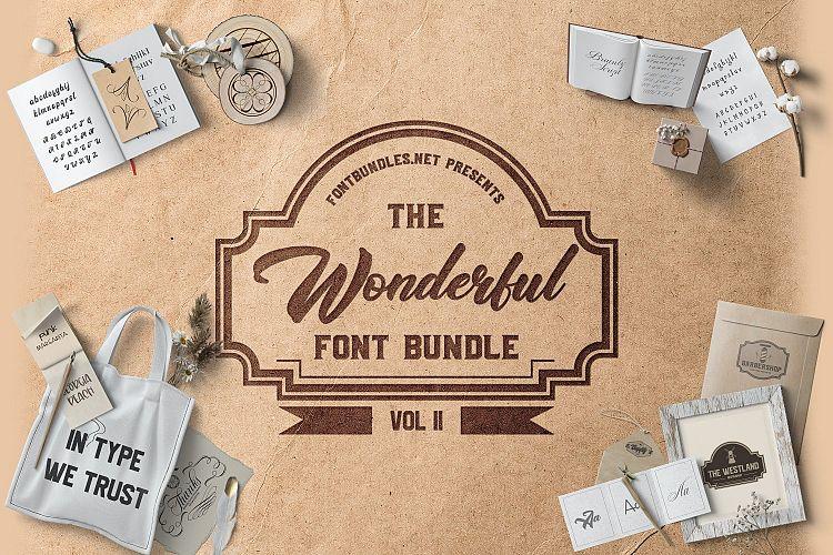 The Wonderful Font Bundle II